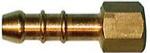 Штуцер газовый Ø10мм с внутренней резьбой N2119